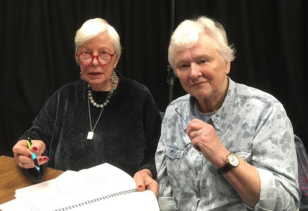 Muriel Romanes & Sylvia Dow